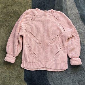 Joie Landyn Pink Knit Sweater